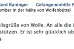 Screenshot Facebook vom 18.9.2012